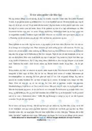 Et træ uden rødder står ikke fast   Dansk Essay   10 i Karakter