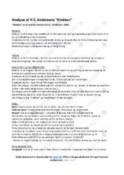 'Klokken' af HC. Andersen | Analyse og fortolkning