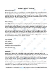 Sidste dag | Analyse | Jesper Wung Sung | 10 i Karakter