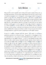 Jul i barakken | Analyse | Siegfried Lens | 12 i Karakter