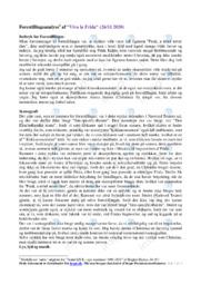 'Viva la Frida' | Analyse | 12 i karakter