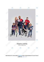 Adaptive clothing | Argumentative essay | 10 i karakter