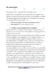 Carlsberg AS   Erhvervsøkonomi   10 i karakter
