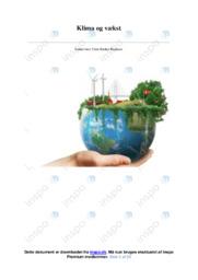 Klima og vækst | IØ opgave | 10 i karakter