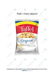 Fedt i chips | Kemirapport | Noter