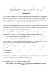 Uafhængighedstest | Matematik | 10 i karakter