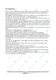 Das Doppelleben | Tysk | 10 i karakter
