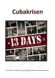 Cubakrisen | SSO | 10 i karakter