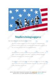 Den amerikanske drøm | SRO | 10 i karakter