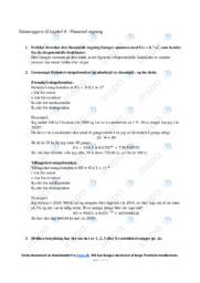 Finansiel regning | Emneopgave til kapitel 4