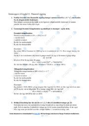 Finansielregning   Matematik   Noter