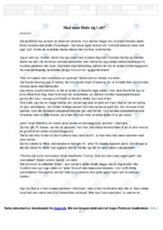 Tekst om racisme | Analyse | Sandy | 10 i Karakter