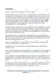 Debatten | Noter Analyse | Tina Splidsboel