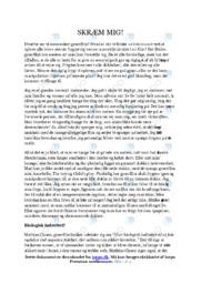 Gyserfilm   Dansk Essay   12 i Karakter
