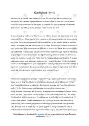Med Naturen | Analyse | Henrik Nordbrandt | 12 i Karakter