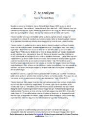Analyse | Hanne Richardt Beck | 10 i Karakter