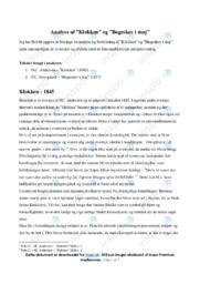 Bøgeskov i maj   Analyse   P.C. Skovgaard   10 i Karakter