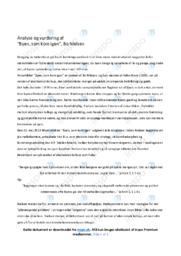 Byen, som kom igen | Analyse | 10 i karakter