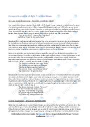 Digte fra romantikken | Komparativ analyse | 10 i Karakter