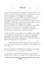 Natskygge | Analyse | Lene Kaaberbøl | 12 i Karakter