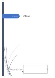 Arla Foods | Noter til afsætning