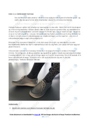 Nature Footwear   Noter til afsætningsopgave
