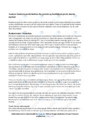 Protein og kosttilskud | Konkurrenceforhold | 10 i karakter