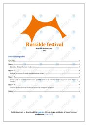 Roskilde festival | Analyse | 12 i karakter