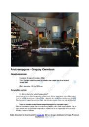 'Gregory Crewdson' | Analyse | 10 i karakter