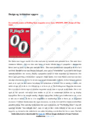 Rolling Stone magazine cover | Semiotisk analyse