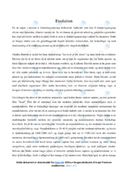 Evolution | Bioloigiopgave | 10 i karakter
