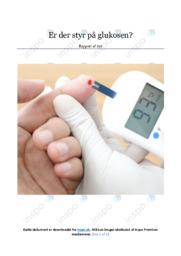 Glukosen | Biologirapport | 12 i karakter