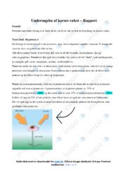 Undersøgelse af karses vækst – Rapport | Biologi noter