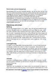 Miljømæssig udfordringer | Biologi | Noter