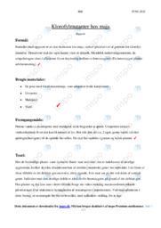 Klorofylmutanter hos majs | Rapport
