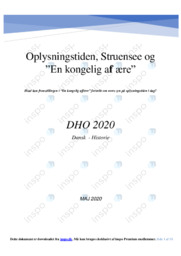 'En kongelig affære'   DHO   10 i karakter