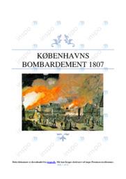 Københavns bombardement 1807 | DHO | 10 i karakter