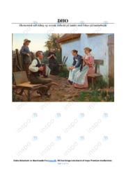 Økonomisk udvikling og sociale forhold i 1800-tallet | DHO