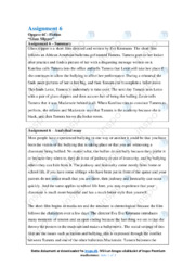 Glass Slipper | Analysis | 10 i karakter