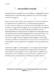 'Buckle up'   Analytical essay   10 i karakter