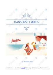 Hansens flødeis   Erhvervscase   12 i karakter