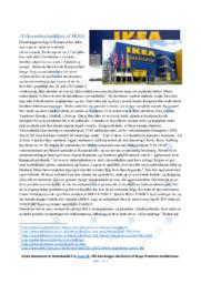 Virksomhedsportræt af IKEA   Erhvervsøkonomi noter