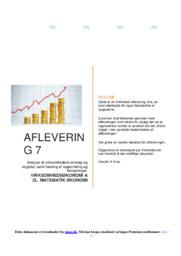 Egetæpper AS   Erhvervsøkonomi   10 i karakter