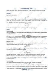 Formelsamling | Gode noter til fysik