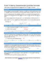 Grauballemanden og sibiriske mammutter   Fysik