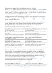 Humanistiske og samfundsvidenskabelige metoder i historie | Noter