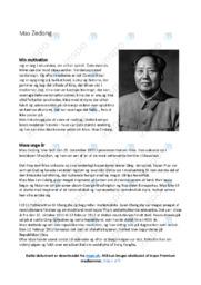Mao Zedong   Essay   12 i karakter