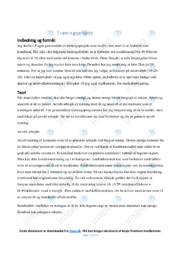 Træningsprojekt | Idræt | 10 i karakter