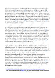Anbefaling om økonomisk politik   10 i karakter