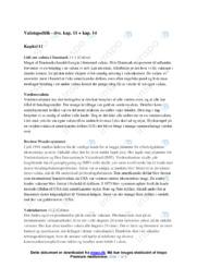 Valutapolitik | IØ noter til kapitel 11 og 14